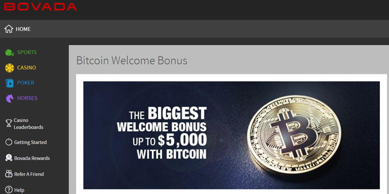Bovada Accepts Btc Bc!   h Allows To Cash Out To Bank Account -